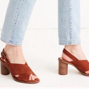 Madewell Jayna Crisscross Heel